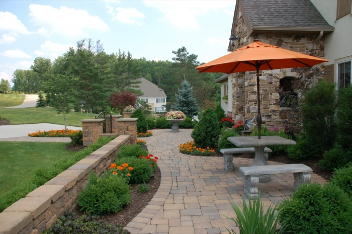 Front Yard Plant & Perennial Gardens