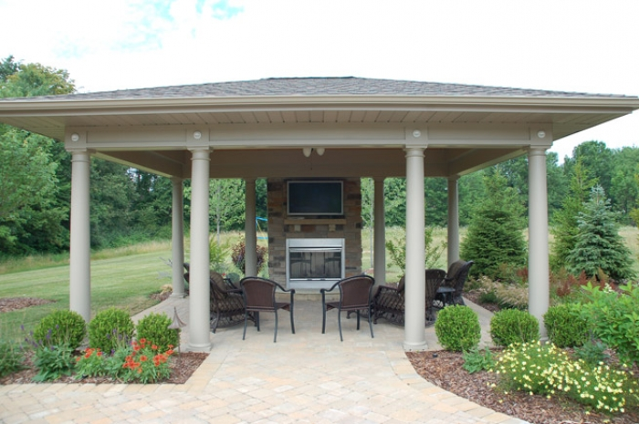 Pavilion Style Shade Structure