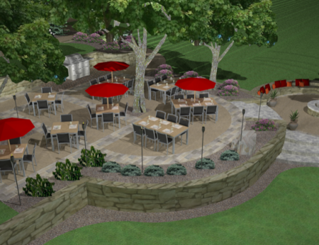 Country Club Outdoor Setting