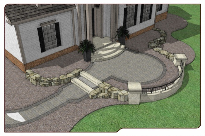 Design of Front Entry