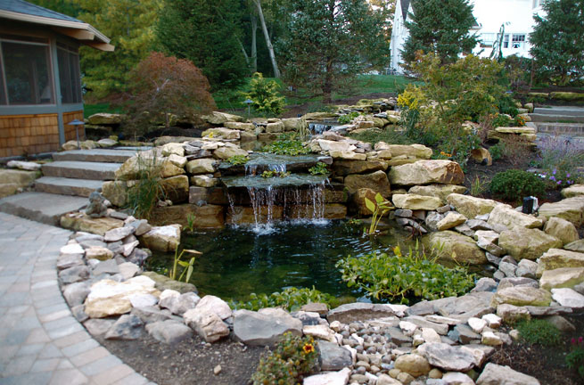 Cascading Water Feature