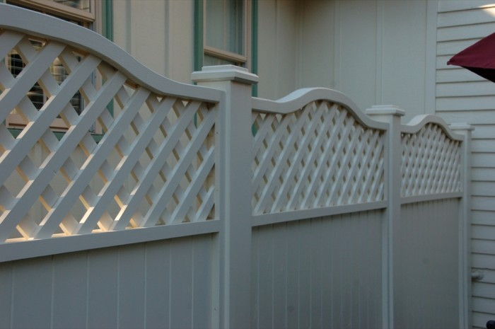 Custom Cedar Screening Fence