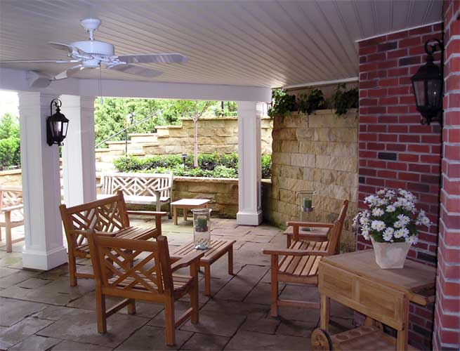 Lower Level Covered Patio