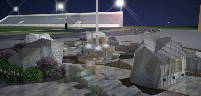 3D of Veterans Memorial
